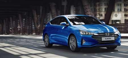 Hyundai Elantra с выгодой до 45 000 руб.
